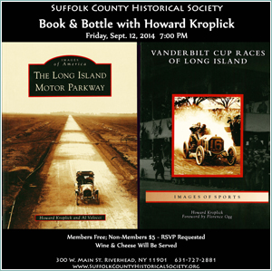 BOOK & BOTTLE Author Visit/Book Discussion with Howard Kroplick